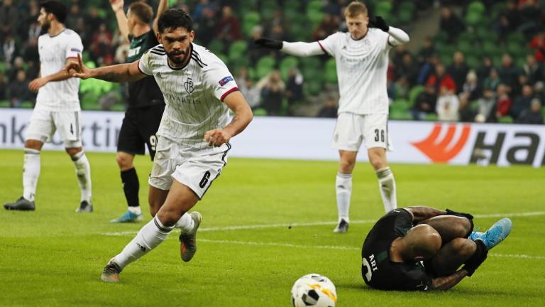 Краснодар победи Базел с 1:0в двубой от 5-ия кръг на