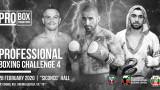 Professional Boxing Challenge 4 открива годината с галавечер в София