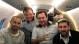 Меси и Аржентина пътували преди дни до Бразилия със самолета, който се разби в Колумбия!