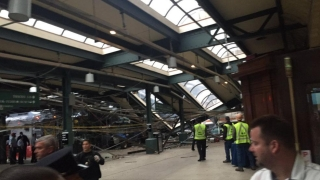 Влак се заби в гара в Ню Джърси, има поне над 100 ранени