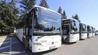 Още 5 реновирани автобуса тръгват по линии 63 и 66 към Витоша