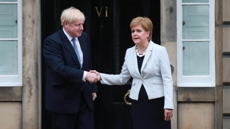 Борис Джонсън скандализира с коментари за децентрализацията на Шотландия