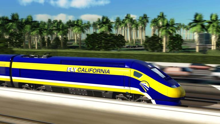 Високоскоростната жп линия, която ще свързва Лос Анджелис и Сан