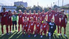 ЦСКА U14 напред за Купата на БФС
