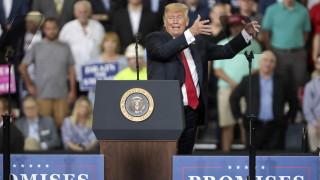 Ново дъно за рейтинга на Тръмп сред американците