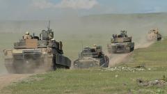 САЩ разполагат танкове до руската граница