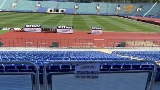 До 31 август мачовете се играят без публика