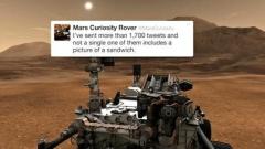 Марсоходът Curiosity признат за един от най-добрите блогъри на годината