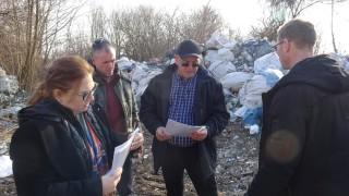 Емил Димитров разкри нерегламентирана площадка за отпадъци в Калипетрово