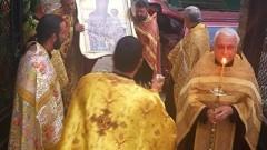 Във Враца тържествено бе посрещната чудотворна икона на света Богородица