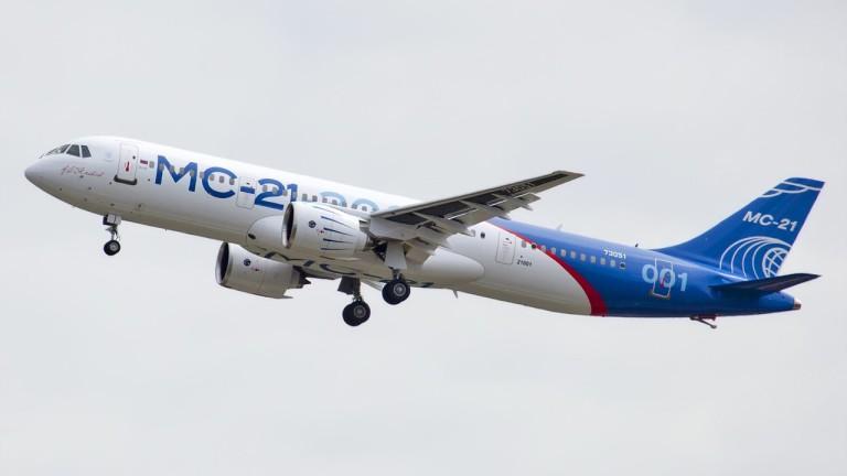 Производството на пътническия самолет MC-21, с който Русия се надява