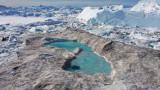 Гренландия, високите температури и рекордно количество стопен лед за един ден