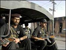 Стрелба в Генералния щаб на Пакистан