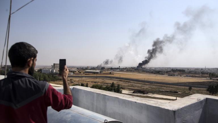 Турция мачка кюрдите в Сирия, превзе градовете Рас ал Айн и Тел Абяд и магистрала