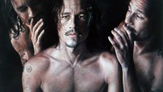 """Портрет на Хийт Леджър отличен с приз в конкурса """"Archibald Prize"""""""
