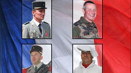 Българин сред убитите френските военни в Афганистан
