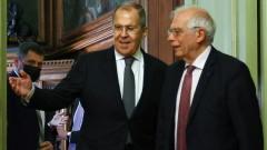 Русия недоумява защо Борел си е мълчал в Москва, а в Брюксел критикува