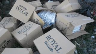 Задържаха близо 12 хил. кутии контрабандни цигари