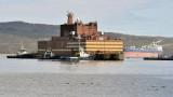 Първата плаваща ядрена централа произведе 10 милиона киловатчаса електроенергия