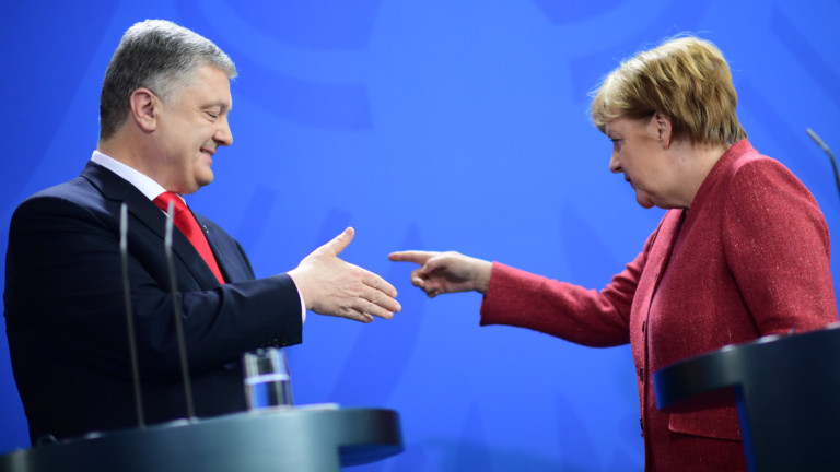Порошенко предлага на Меркел украински поток вместо северен поток-2