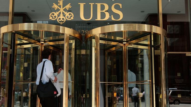 Чистата печалба на най-голямата банка в Швейцария - UBS AG,
