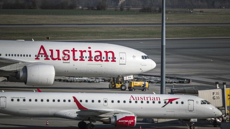 Австрия забрани пътническите полети от България и още 9 страни,
