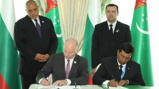 Сътрудничим си с Туркменистан в четири области