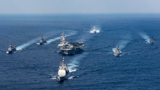 Бойните кораби на САЩ край Корейския полуостров нямали военна цел