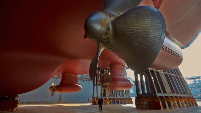 Витлата на корабите са огромни и много мощни