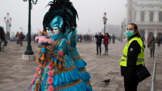 Заразените с коронавирус в Италия вече са над 100, спират карнавала във Венеция