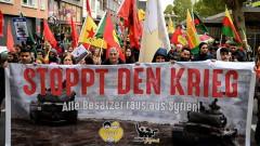 Хиляди в Германия протестират срещу турската офанзива в Сирия