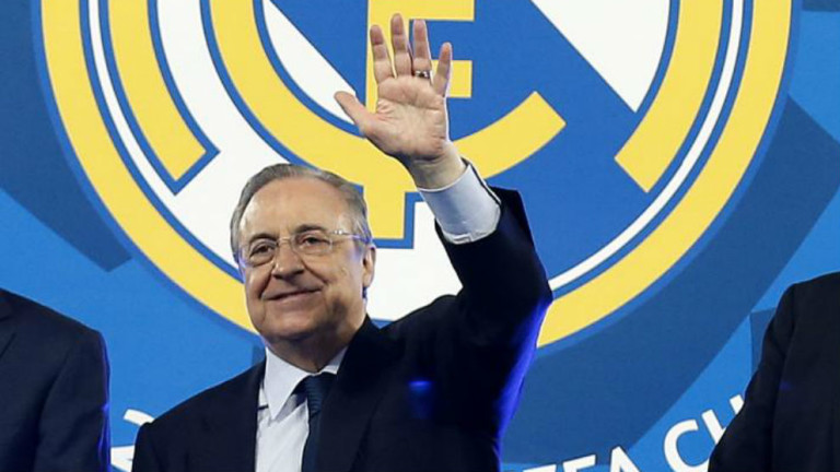 Флорентино Перес гради най-скъпия Галактико - Реал подобри рекорда си по харчове