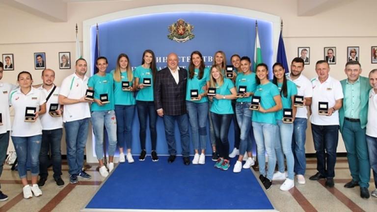 Министърът на младежта и спорта Красен Кралев връчи почетни медали