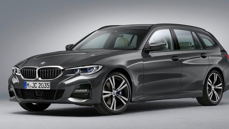 BMW разсекрети новото поколение комби 3-Series Touring. Публичната премиера на