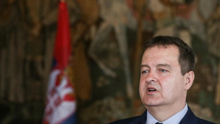 Министърът на външните работи и първи вицепремиер на Сърбия Ивица