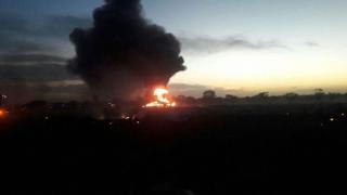 В Колумбия се разби транспортен самолет