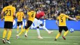Пол Погба блести за Юнайтед при класически успех над Йънг Бойс