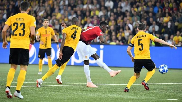 Халфът на Манчестър Юнайтед Пол Погба заяви, че е разочарован