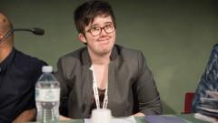 Ирландският президент на погребението на убитата журналистка