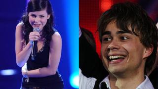 Победителите в Евровизия Саша Рибак и Лена Майер - гаджета от 3 години!