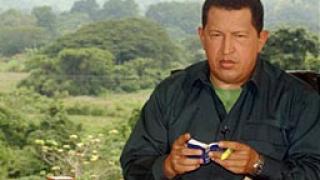 Чавез посредничи в конфликта между бунтовниците и правителството в Колумбия