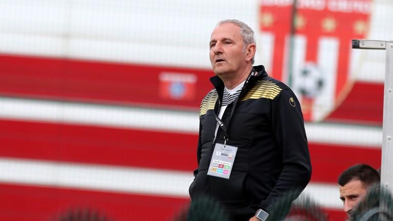 Старши треньорът на Царско село Никола Спасов остана много доволен