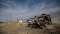 Хеликоптер на иракската армия се разби, 9 души загинаха