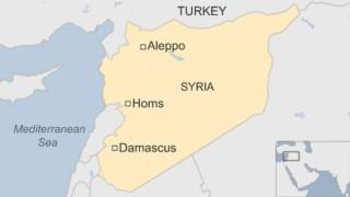 Силна експлозия в иранска военна база до Алепо