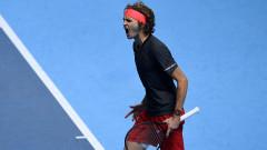 Зверев победи Федерер в Лондон!