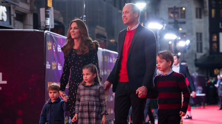 Коледната идилия на Уилям и Кейт