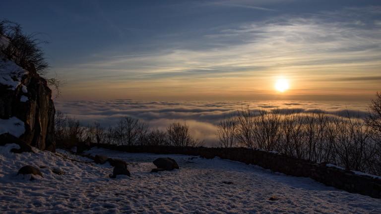 Денят започва с мъгла, но слънцето ще се появи
