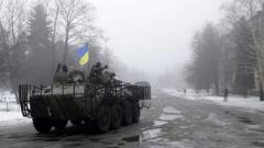 Враждуващите страни в Украйна обявиха, че няма да изтеглят артилерията