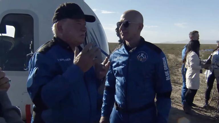 Компанията за космически туризъм на основателя на Amazon Джеф Безос