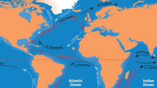 Циркулацията в Атлантическия океан е най-слаба от хилядолетие, предупреждават учени